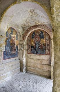 Felsenkirche, La Candelora, Massafra, Apulien