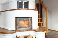Feuerstätte im Wohnraum