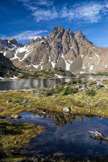 Picturesque view of Navarino island in southern Chile