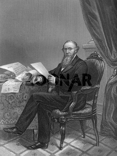 Edwin McMasters Stanton, 1814 - 1869, an American lawyer and politician