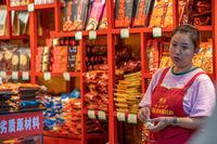 Local food vendor from Chongqing