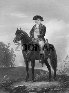 Israel Putnam, 1718 - 1790, an American army general