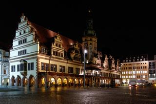 altes Rathaus Leipzig, Sachsen, Deutschland