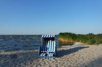 Strand Idylle am Haff