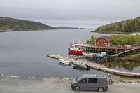 Campieren am Fischerhafen