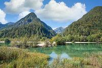 Jasna-See im Triglav-Nationalpark,Slovenien