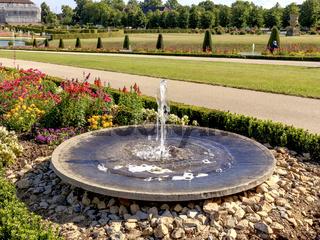 Springbrunnen im Schlossgarten Ludwigsburg
