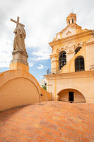 Cordoba Argentina cathedral roofs view