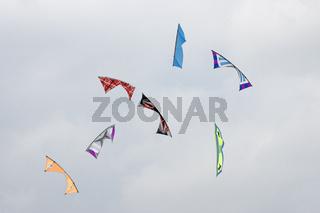 Revolution Drachen auf dem Drachenfest in Lünen, Deutschland