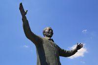 Statue von Nelson Mandela beim Union Buildings in Pretoria, Südafrika