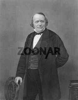 Jean Louis Rodolphe Agassiz, 1807 - 1873, American biologist