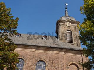 die stadt Bad Arolsen in Hessen