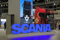 Scania Anniversary Truck on Transport-Logistics 2019