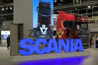 Scania Anniversary Truck on Transport-Logistics 2019