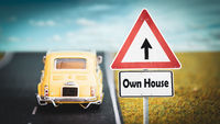 Street Sign to Own House