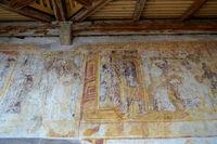 Kirche St. Kathrein in der Scharte - Wandmalerei in der Vorhalle