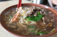 Taiwanese thickened soup noodle