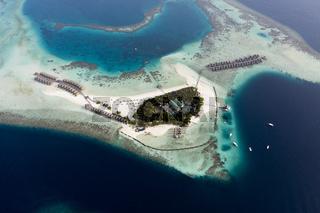 Touristeninsel, Moofushi, Malediven