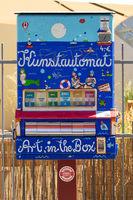 Kunstverkauf in Werder. Deutschland