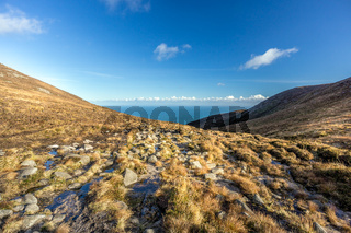 Mourne Mountains are the highest mountain range in Northern Ireland.