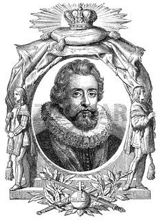 James I, 1394 - 1437, King of Scotland