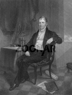 Eli Whitney, 1765 - 1825, an American inventor
