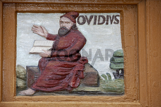 Publius Ovidius Naso or Ovid, Alfeld, Old Latin School, Germany