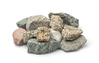 Pile of various stones