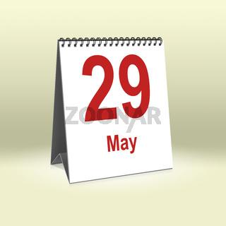 May 29th | 29.Mai