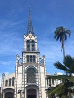 kirche in der Karibik
