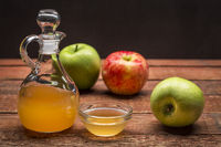 unfiltered, raw apple cider vinegar
