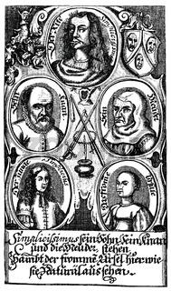 Der abenteuerliche Simplicissimus Teutsch by Hans Jakob Christoffel von Grimmelshausen, 1622 - 1676, a German writer