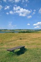 Landschaft auf Moenchgut,Ruegen,Ostsee,MVP,Deutschland