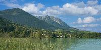 Walchsee in Tirol,Oesterreich