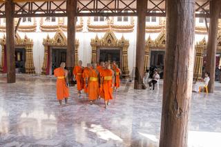 THAILAND BANGKOK THONBURI WAT PAK NAM