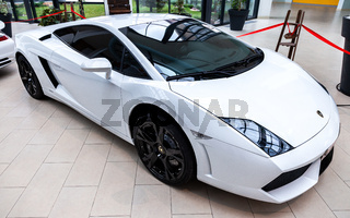 Lamborghini is famous expensive automobile brand car