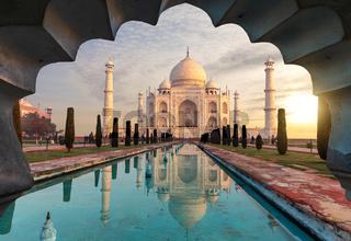 Taj Mahal, mysterious mausoleum of India, Agra
