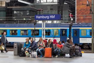 Central Station in Hamburg, Germany