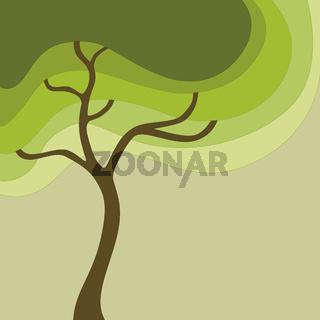 Baum abstrakt