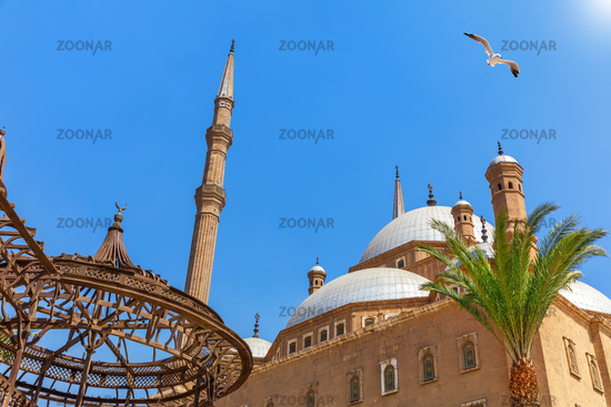 Cairo Citadel, view of the Mosque, Egypt