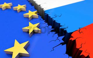 Europa Russland in der Krise
