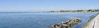 Küste und Strand Costa azzura in Grado