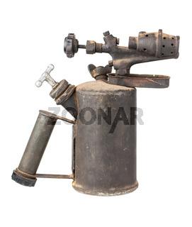 Old rusty blowtorch