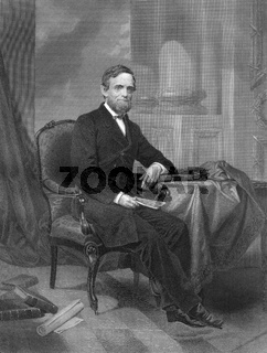 Schuyler Colfax, Jr., 1823 - 1885, United States Representative