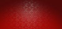 Rote Backstein Wand