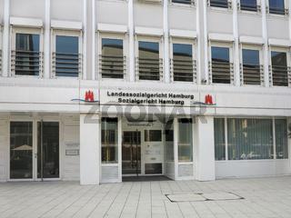 Landessozialgericht und Sozialgericht Hamburg