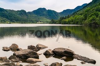 Llyn Crafnant, Conwy, Clwyd, Wales, UK