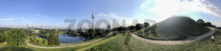 panoramic view of Olympic Park