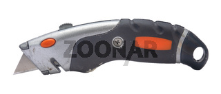 Isolated Utility Knife Or Box Cutter