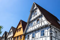 houses in a row in Calw Germany